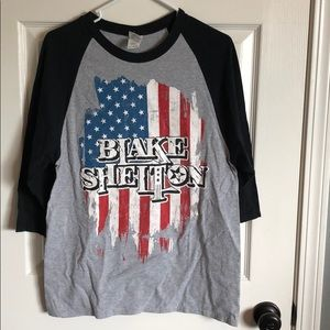 Black Shelton baseball tee